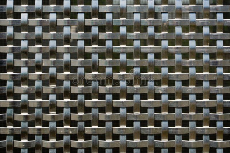 钢织法 免版税图库摄影
