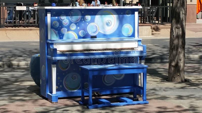 钢琴在丹佛 免版税库存图片