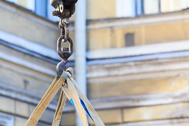 钢建筑勾子 免版税库存图片