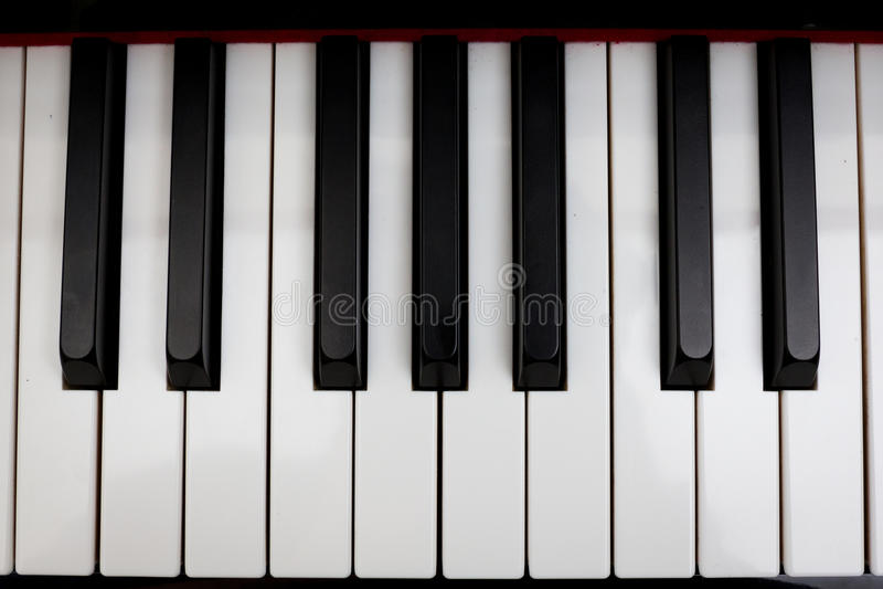 2钢琴 免版税库存图片