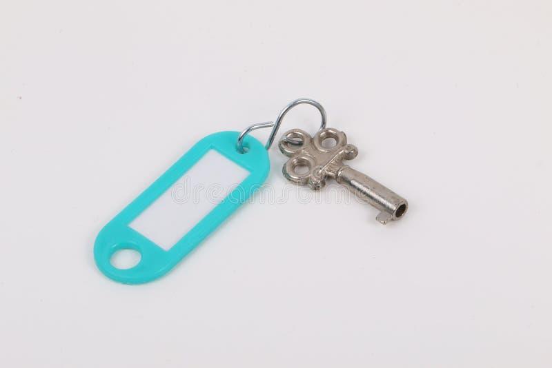 钥匙和keyholder 免版税库存图片