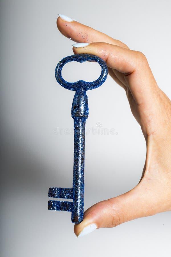 钥匙打开什么您想要 库存图片