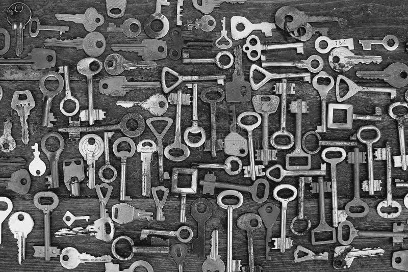 钥匙锁 图库摄影