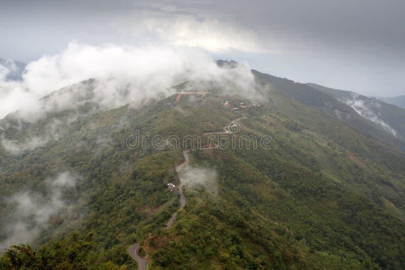 钦邦地区,缅甸 库存图片