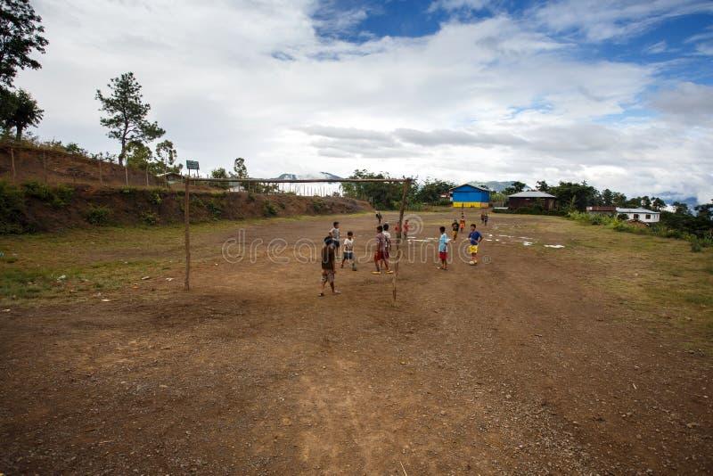 钦邦,缅甸 免版税库存图片