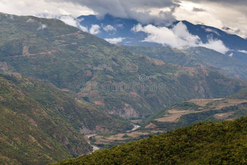 钦邦,缅甸 免版税库存照片