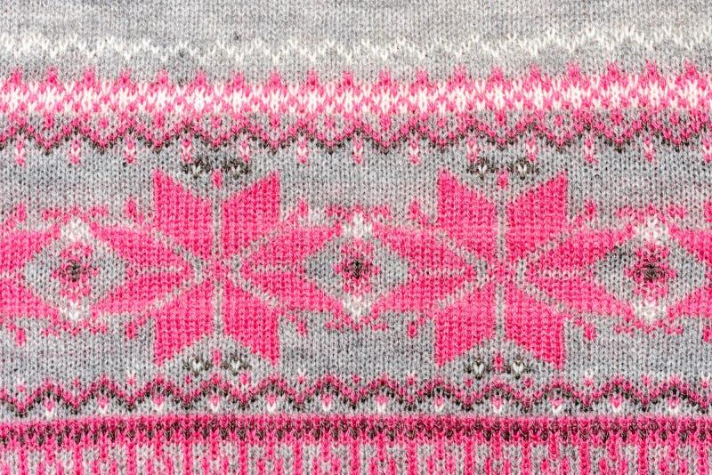 钩针编织织品样式 库存照片