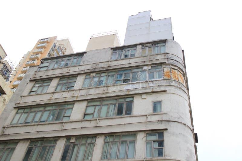 钳子lau老房子在香港在2017年 免版税库存图片