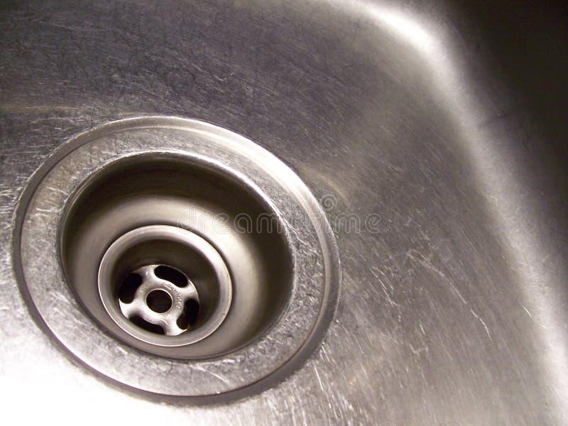 钻孔水槽 库存照片