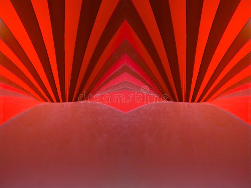 钻孔红色 库存图片