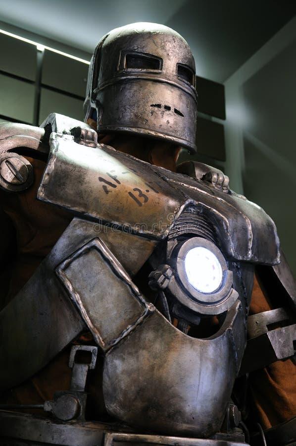 铁人标记我 图库摄影