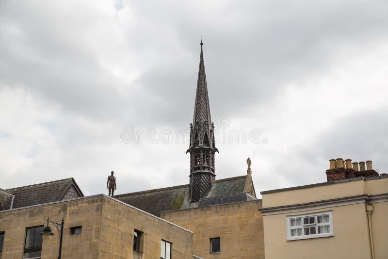 铁人,牛津,英国 库存照片