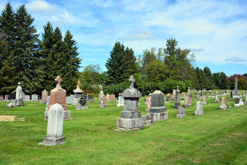 滑铁卢公墓 库存照片