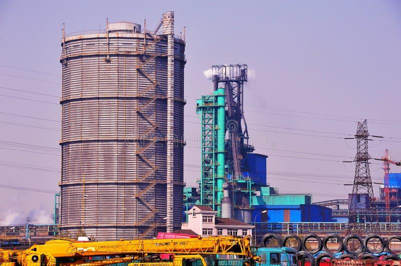 铁和钢铁厂 免版税库存照片