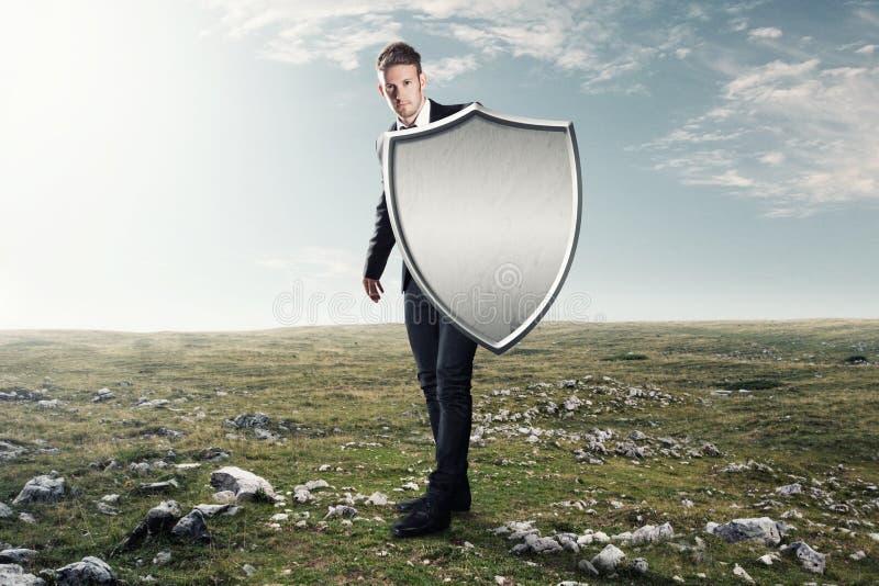 铁盾 免版税库存图片