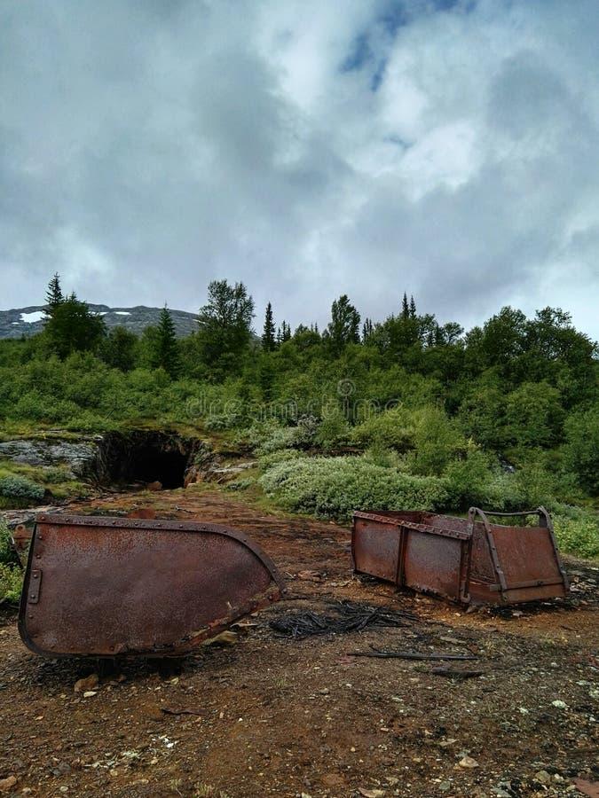 铁矿 免版税图库摄影