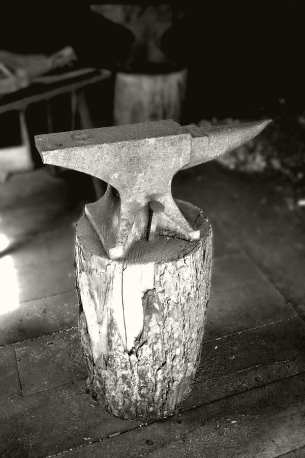 铁砧 免版税图库摄影