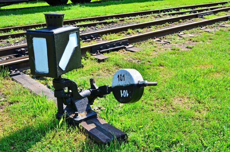 铁路切换 图库摄影