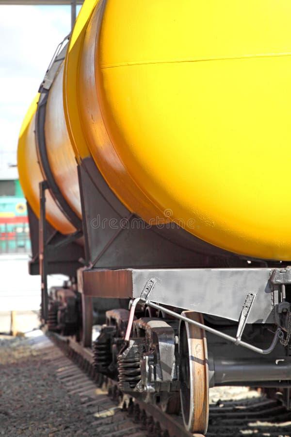 铁路坦克 库存照片