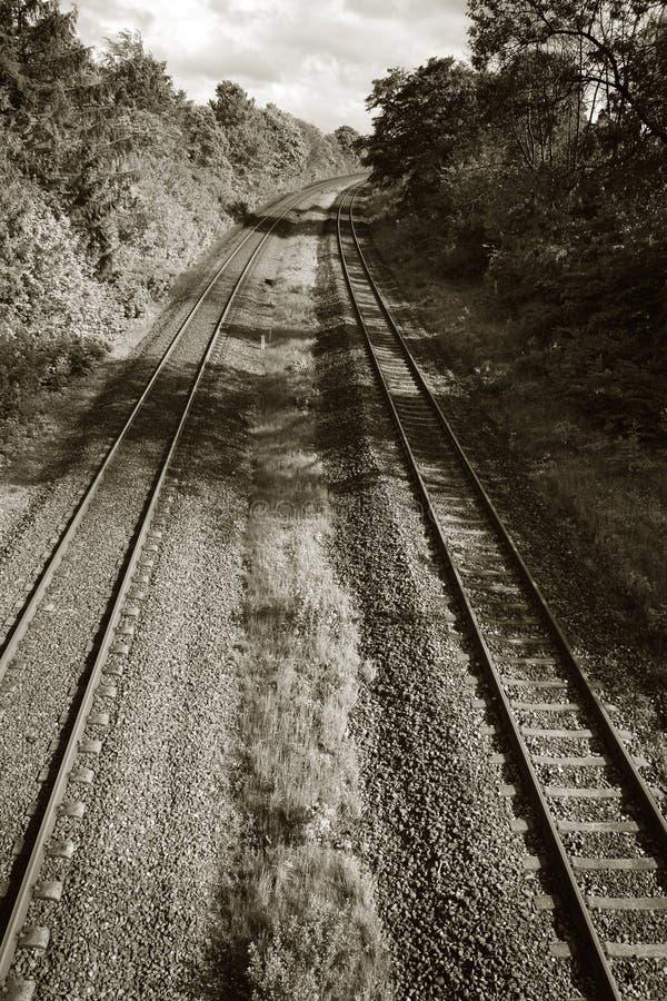 铁路培训 图库摄影
