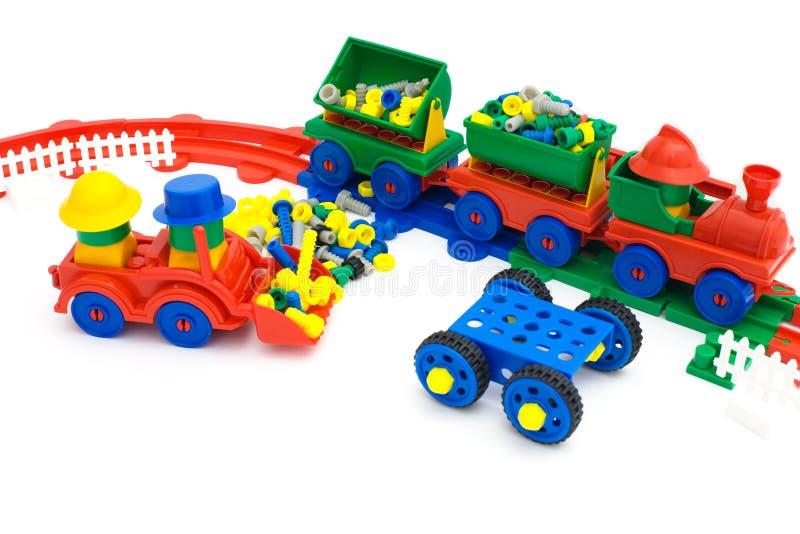 铁路玩具 库存图片