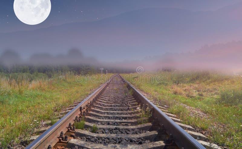 铁路线 库存图片