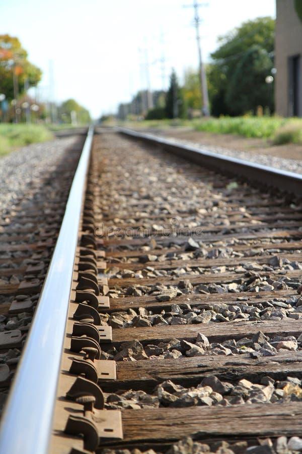 铁路跟踪 免版税库存照片