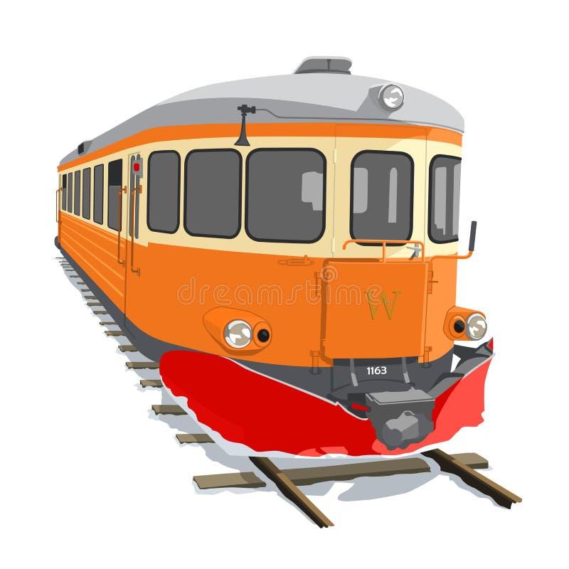 铁路车 免版税图库摄影