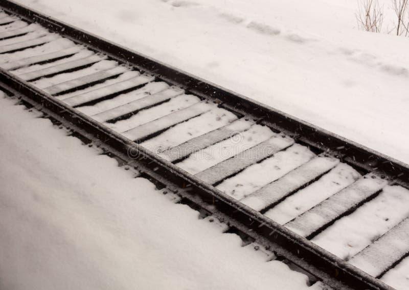 铁路运输光 免版税库存照片