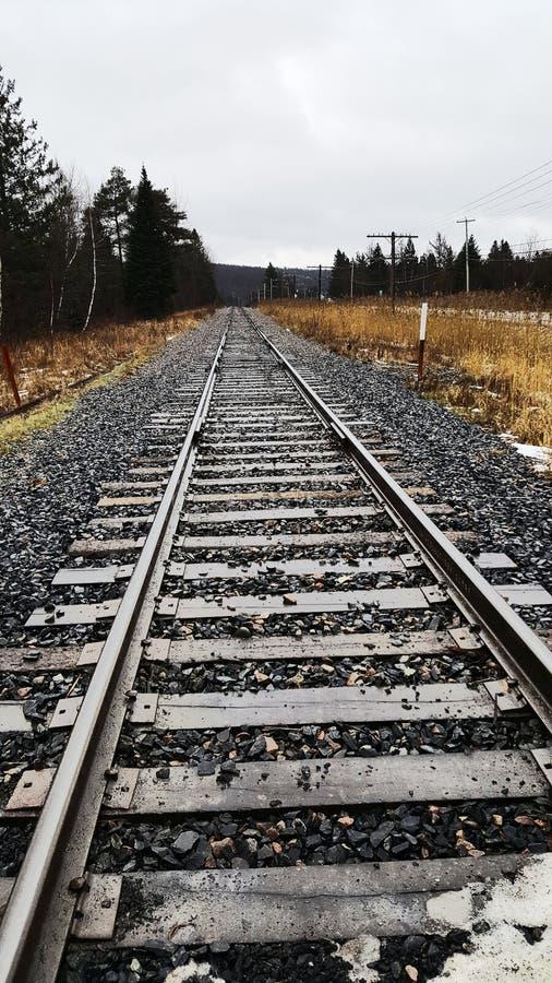 铁路,火车 库存照片