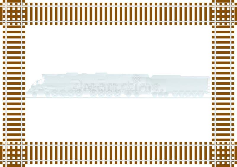 铁路 库存例证