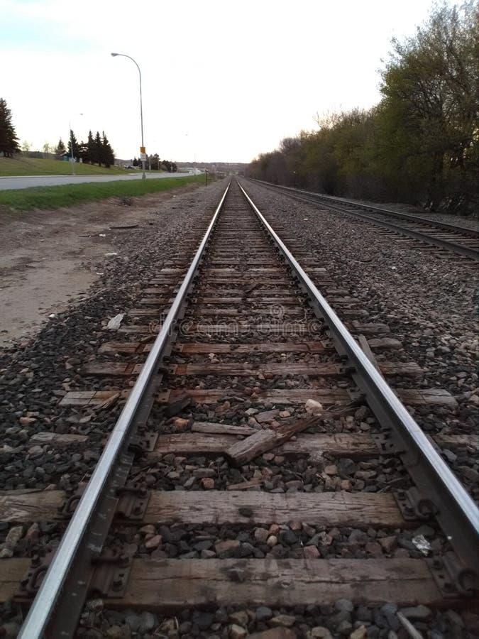 铁轨 库存图片