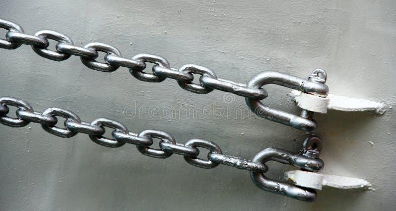 铁链子 库存照片