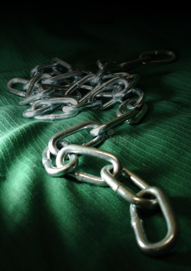 铁锁囚犯 免版税库存图片