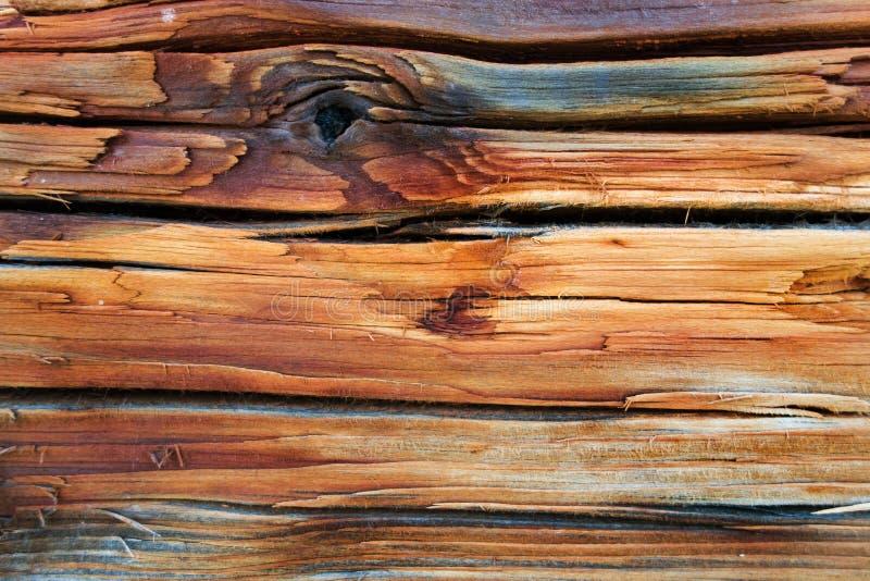 铁锈和木头 免版税库存图片