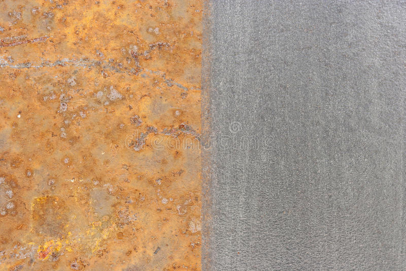 铁锈和钢 图库摄影