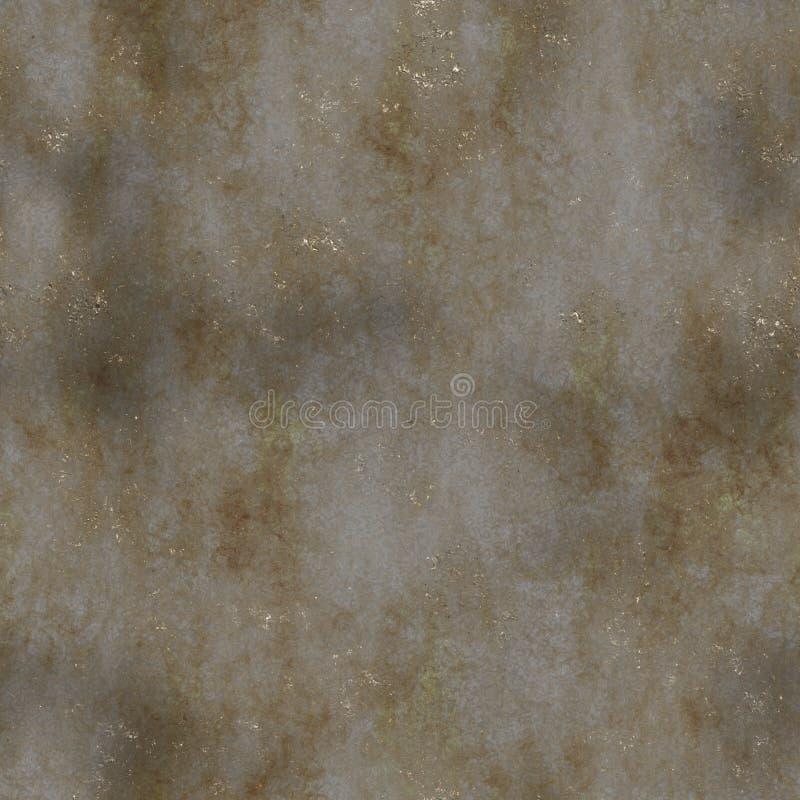 铁锈无缝的纹理 库存例证