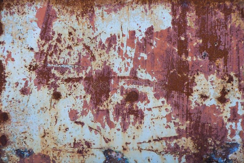 铁锈纹理 免版税库存照片