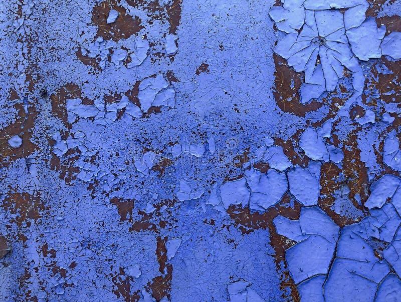 铁锈铁 老和生锈的金属纹理和背景  损伤和腐蚀 免版税库存照片