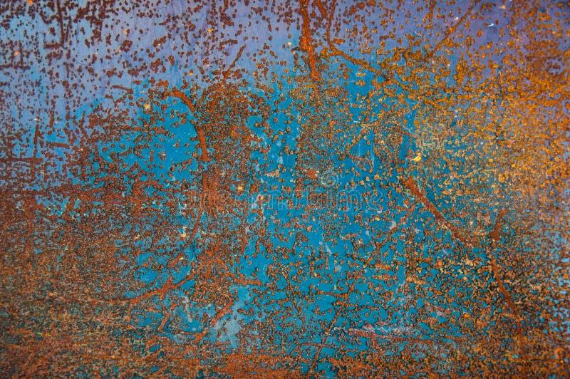 铁锈难看的东西背景 库存图片