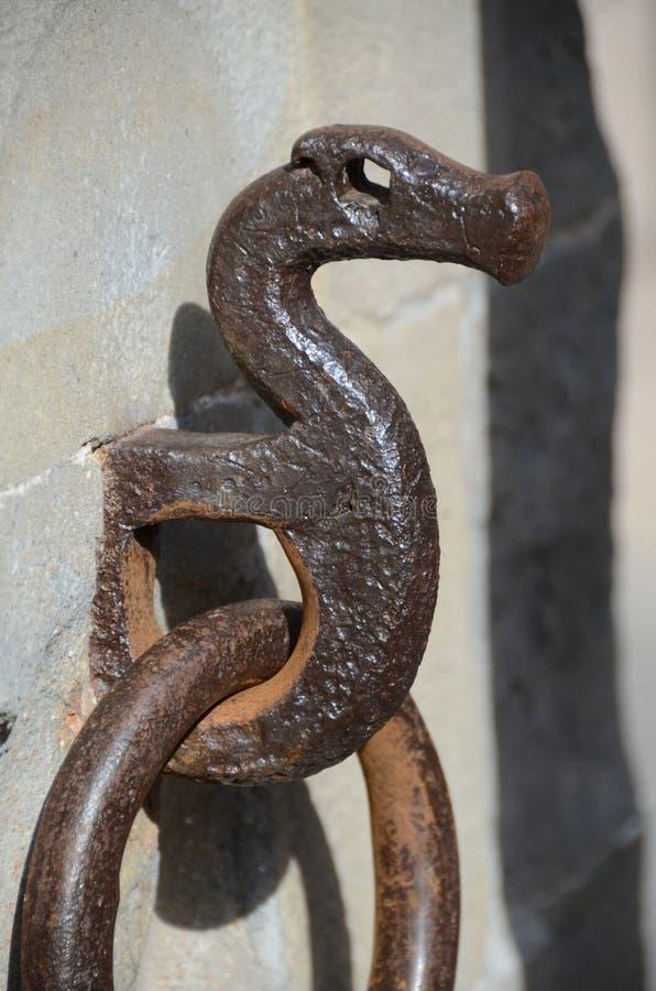 铁,装饰的链子 免版税图库摄影
