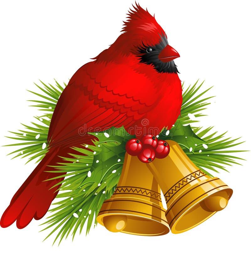 铃鸟主教圣诞节 库存例证