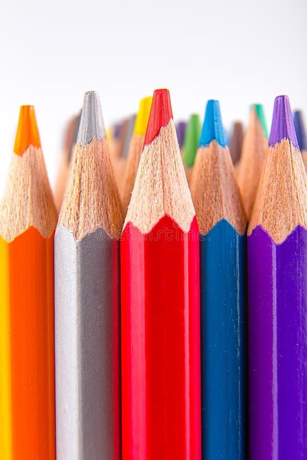 铅笔墙壁  免版税库存图片