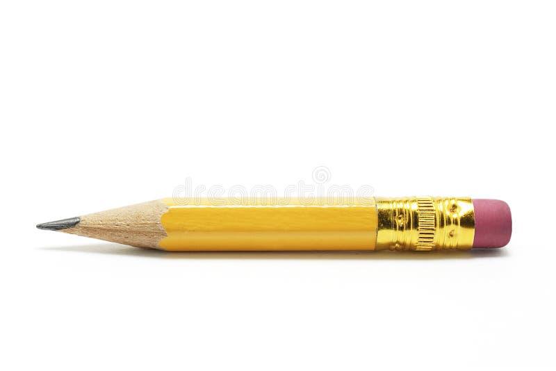 铅笔短小 免版税库存图片