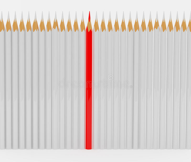 铅笔 向量例证