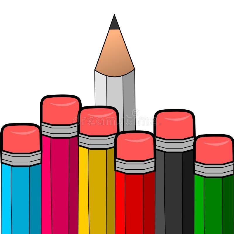 铅笔01 库存照片