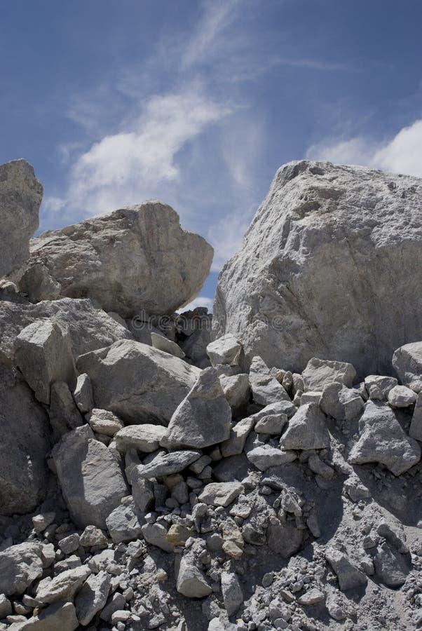 铜岩石 图库摄影