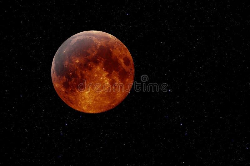 铜月亮 向量例证