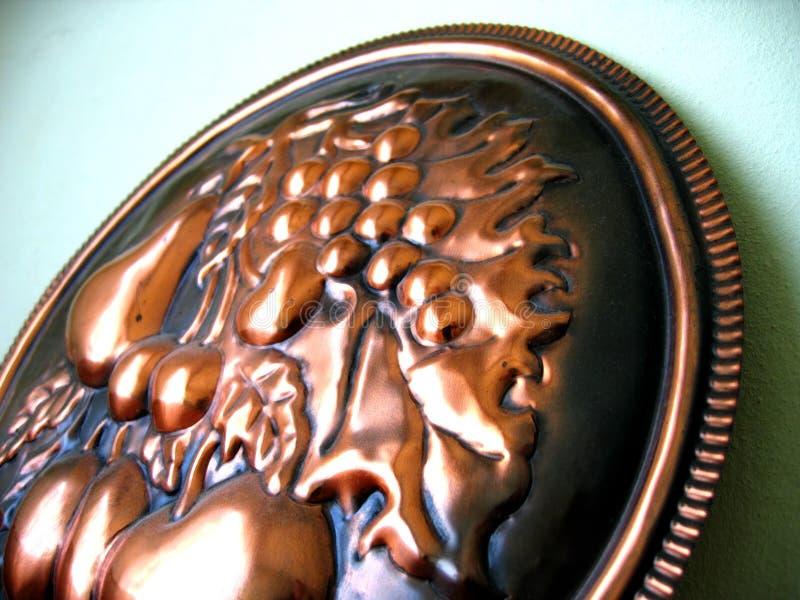 铜盾 库存图片