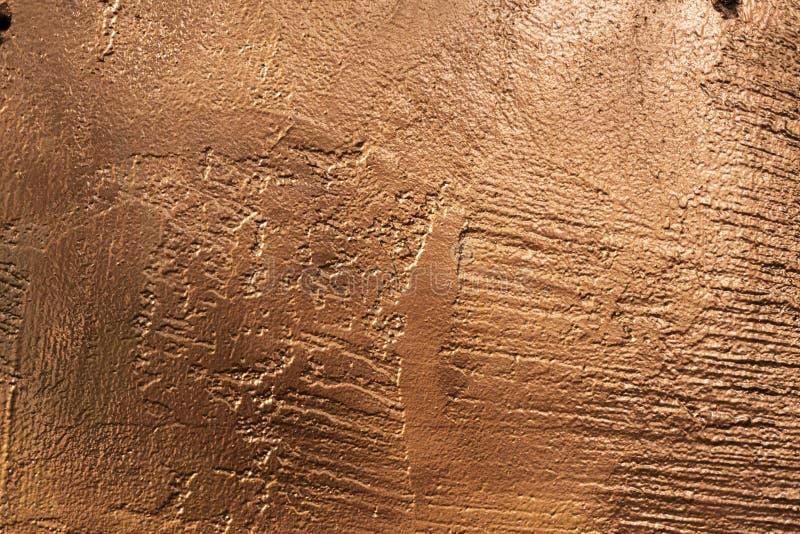 铜石纹理盘区外部2 免版税库存照片
